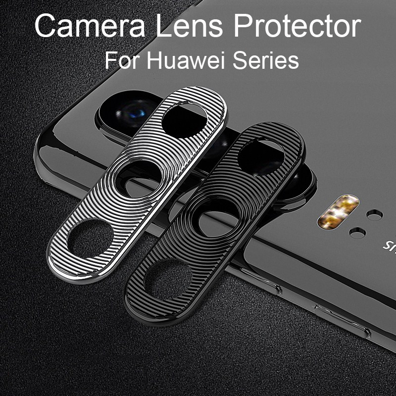 Camera Lens Protector For Huawei P30 P20 Pro Lite Case Metal Mobile Phone Lens Protective Ring Cover For Huawei Mate 20 X  20X
