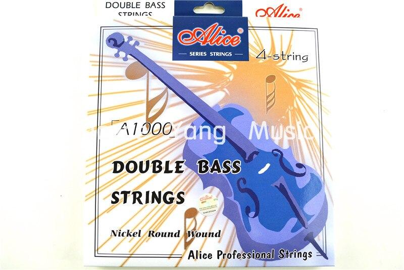 Alice A1000 Contrebasse Cordes Contrebasse Cordes 1e-4e Nickel Cordes Filées Rond