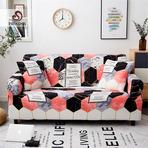Image 1 - Parkshin Fashion Geometric Slipcovers Sofa Cover All inclusive Sectional Elastic Full Couch Cover Sofa Towel 1/2/3/4 Seater