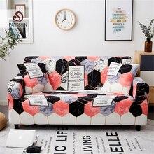 Parkshin אופנה גיאומטרי כיסויים ספה כיסוי הכל כלול חתך אלסטי מלא ספה כיסוי ספת מגבת 1/2/ 3/4 Seater