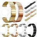 Boa qualidade relógio milanese + pulseira de aço inoxidável pulseiras de relógio bandas strap rose gold strap + film hd para samsung gear s3 cintas
