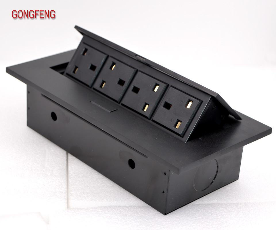 Special Hot Selling New K208CBritish Standard Power Bounce Desktop Socket American Power Station Socket Desk Hidden Table Socket