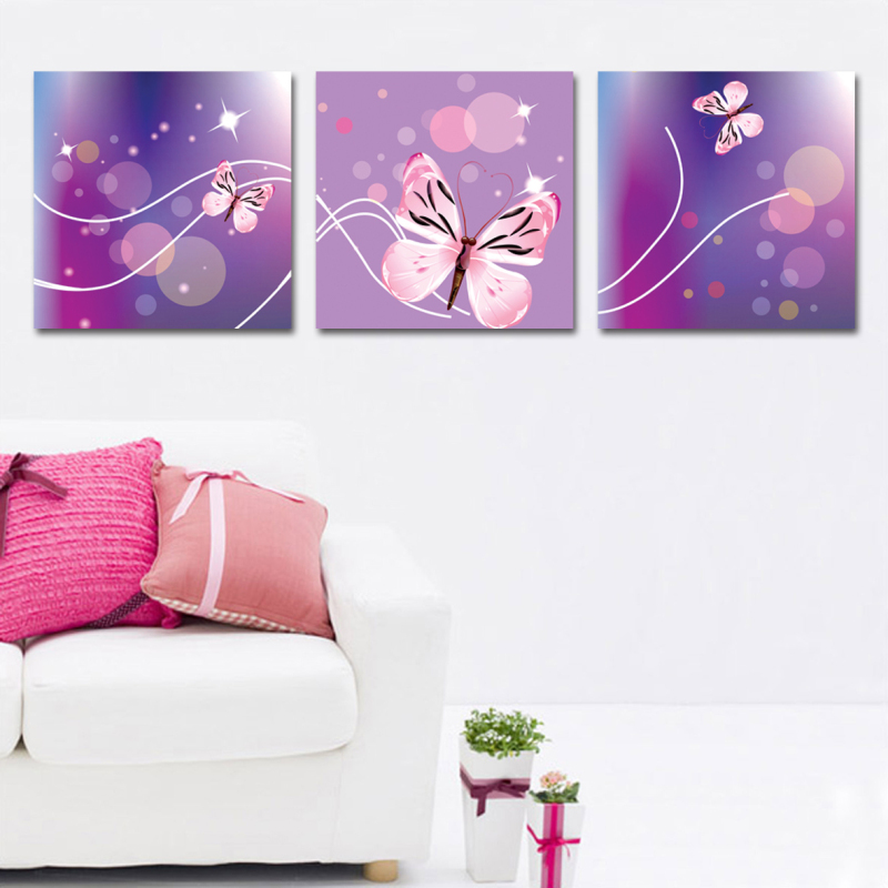 Free ship Unframed oil painting print on canvas flowers home decor art craft sticker wall pictures for living room SYP-0247