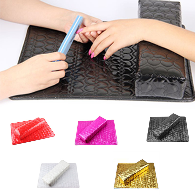 Column Cushion Pillow Salon Hand Holder Rectangle Leather