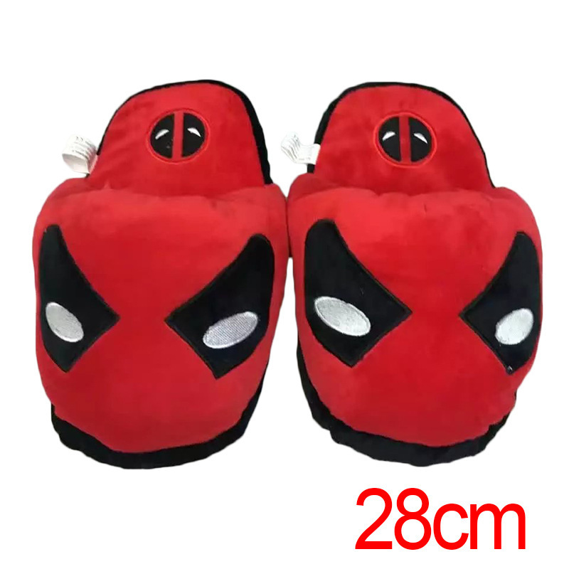 Suicide Squad Superhero little ugly halle spider-man superhuman Wool cloth with soft nap slipper Wool cloth with props Cosplay