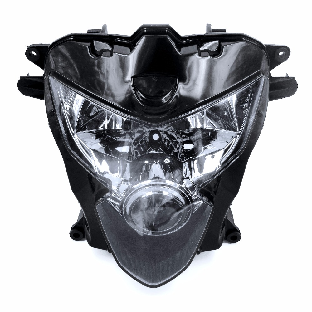 new headlight assembly headlamp motorcycle light for. Black Bedroom Furniture Sets. Home Design Ideas