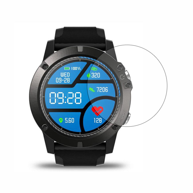 Smartwatch Tempered Glass Protective Film Clear Guard For Zeblaze VIBE 3 Pro Smart Watch LCD Display Screen Protector Cover