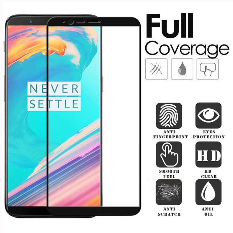 For Oneplus 5T Glass oneplus 5t Tempered Glass Film 1+5T Full Cover Screen Protector Glass for OP 5T 2.5D Film Glass 6.01 inch