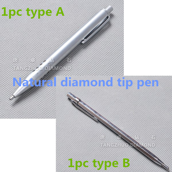 Talentool Free Shipping two kinds of Glass Engraving Pen with Natural Diamond Tip and Carbide Tip Scriber Pen  two packs of jiangsu anhui shipping matsuki eijisa 6l 2 82kg lemon pine natural deodorant