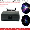 NEW Design 1W RGB Full Color Dolphin Laser Lights With SD Card For Xmas Party Show