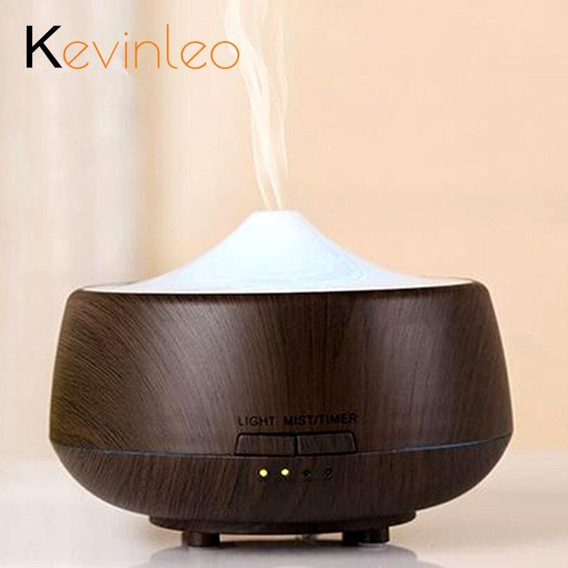 250 ML Aromatherapie Diffuser Hout Led luchtbevochtiger Kleurrijke - Huishoudapparaten - Foto 1