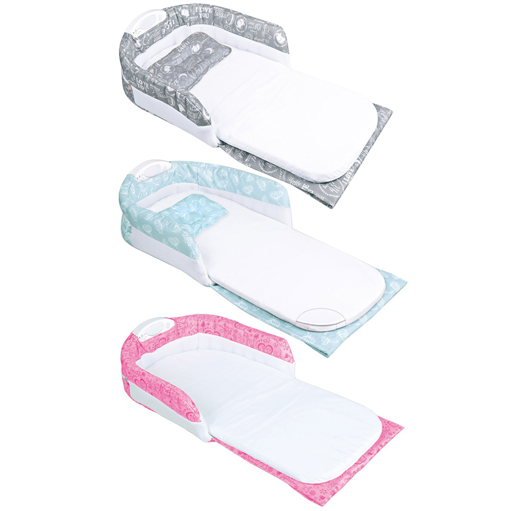 Berceau Portable bébé nid douillet bébé couchette couchette avec poignée veilleuse musique