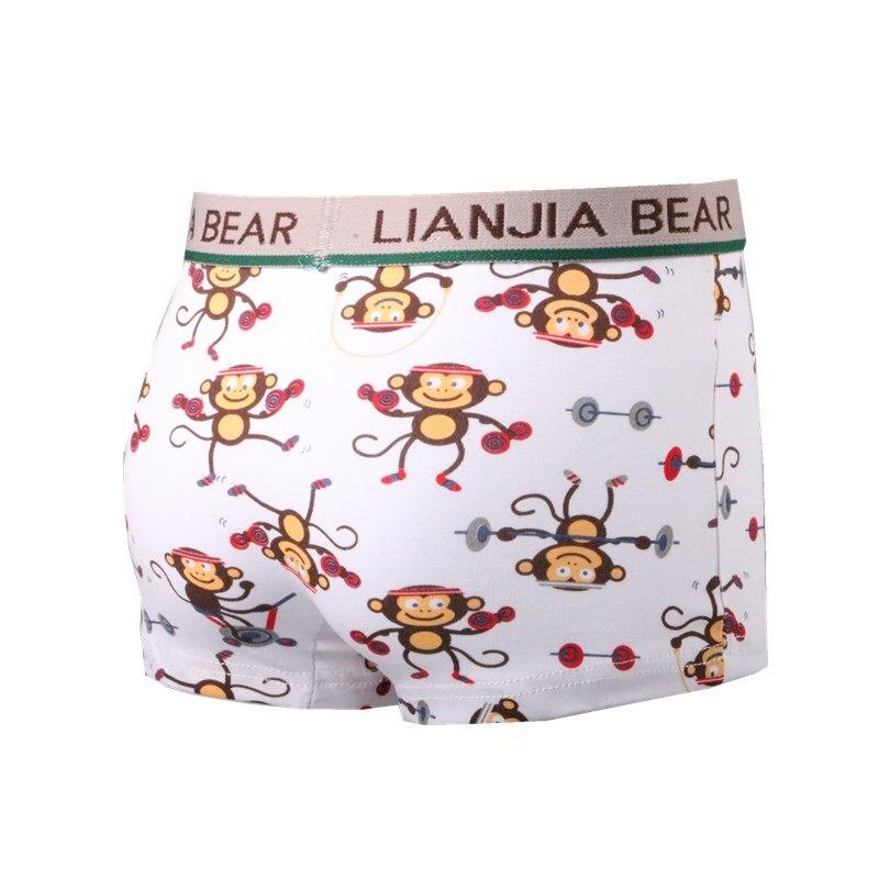 4pcs/lot Boys Loose Colorful Boxer Shorts Children Comfortable Ventilate Underpant Underwear Pant