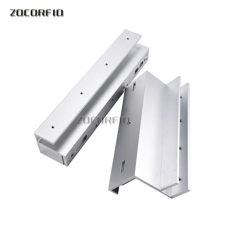 Free Shipping U Bracket 280kg Magnetic Lock Frameless Glass