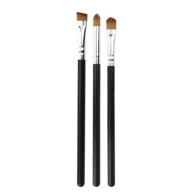 1/3Pcs Makeup Brush Cosmetic Brushes Kabuki Face Nose Brushes Concealer Foundation Eyebrow Eyeliner Blush Powder Makeup Tool