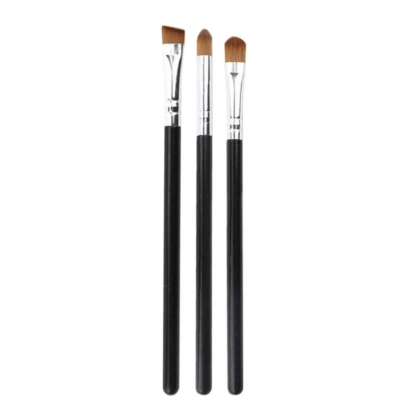 1/3Pcs Makeup Brush Cosmetic Brushes Kabuki Face Nose Brushes Concealer Foundation Eyebrow Eyeliner Blush Powder Makeup Tool