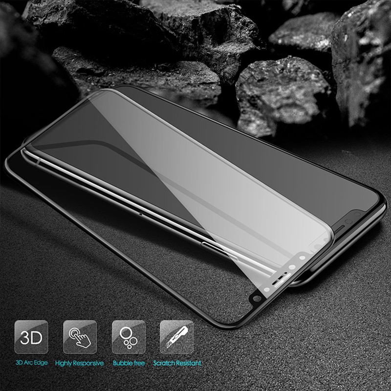 Suntaiho 3D 9H Tempered Glass For iPhone X 3D HD Full Cover Screen Protector For iPhone X Protective Glass Film