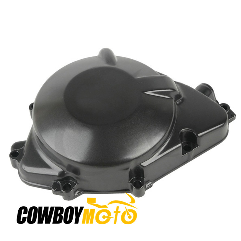 Motorcycle Black Aluminum Engine Stator Crankcase Cover Cap For HONDA CBR929 CBR900 RR CBR9296RR CBR900RR 2000 - 2001 motorcycle engine cover camshaft plug crankcase cap oil filler cover screw for honda cbr500r cb500f nc700 nc750 2013 2014