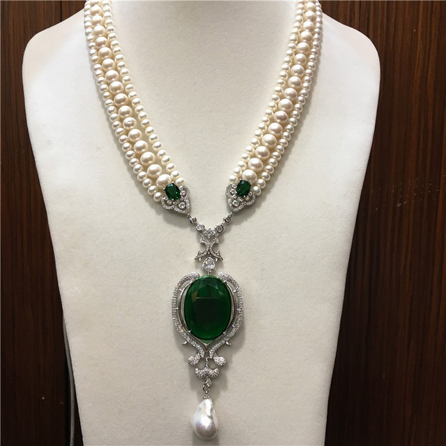 Hand knotted chain necklace