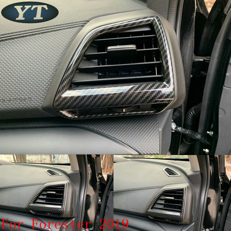 Auto inerior accessories side air vent intake trim sticker for Subaru forester 2019