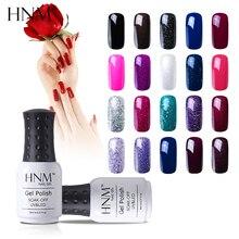 HNM 28 шероховатый цвет 8 мл Гель-лак для ногтей Гибридный лак Полупостоянный УФ светодиодный Гель-лак замачиваемый Лаки основа Топ праймер геллак чернила