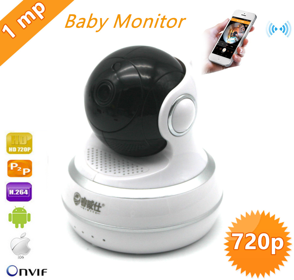 720p Wireless Ip Camera Smart Wifi Camera P2P Baby Monitor Network CCTV Security Home Protection Mobile Remote Cam wifi ip camera wireless 720p smart p2p baby monitor network cctv security camera home protection mobile remote cam