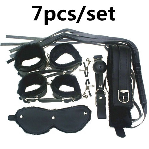 Handcuffs Adult Games Sex Tools 7 Pieces kit Leather Bedroom Restrain  Footcuff Queen Consume Fun Adult whip Set sex products. Online Get Cheap Fun Games Bedroom  Aliexpress com   Alibaba Group