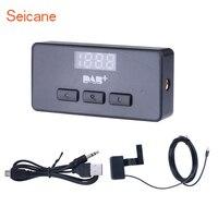 Seicane Top Car Digital Radio DAB+ Audio Receiver Radio Tuner with USB Interface RDS Function