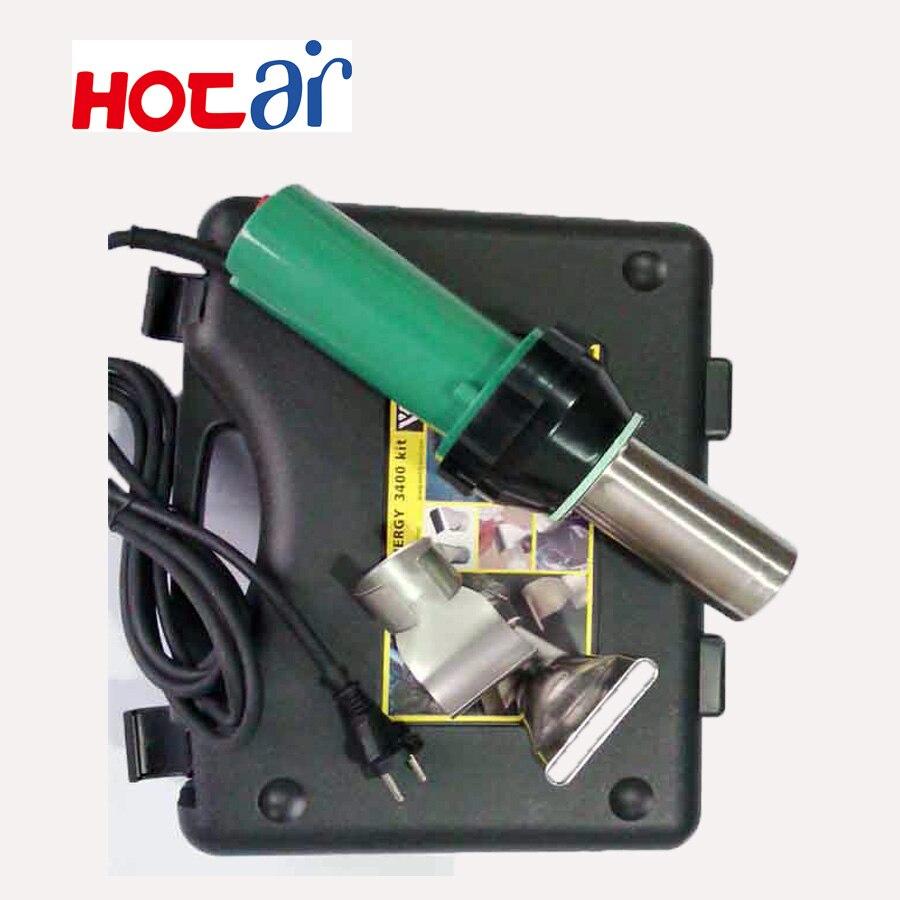220v Hot Air Welder Plastic Welding Gun Tools Set 3400w Industrial Pp/pe/pvc Plastic Rod Heat Gun Kit Welding Machine 50/ 60hz Tools
