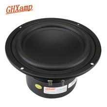 GHXAMP 5.25 inch 148mm Woofer Speaker 5inch 40W Subwoofer Home Theater High Power Long Stroke For Bookshelf Computer Speaker 1PC