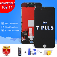 1PCS 5 5 Inch LCD Glass For IPhone 7 Plus LCD Screen Touch Replacement Lens Pantalla