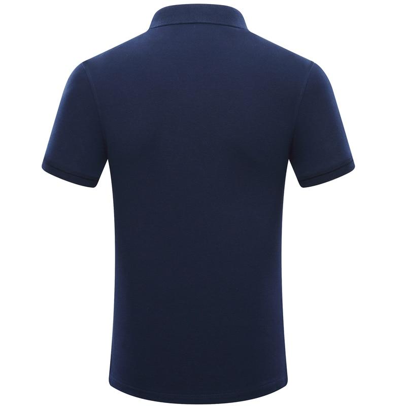 6064862d752 Kopen Goedkoop 2018 Hoge Kwaliteit Mannen Polo Shirt Zomer Korte ...