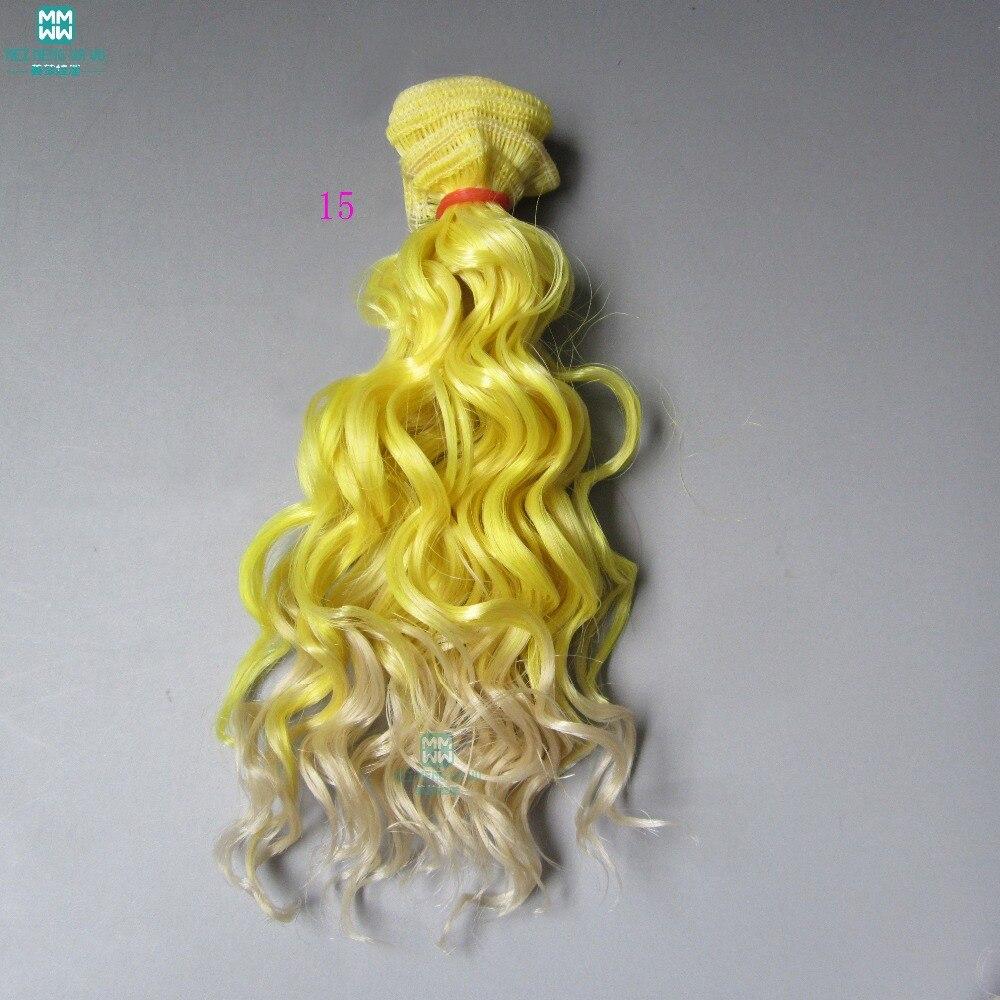 Docktillbehör peruk som ull rullar hår För dockor 1/3 1/4 1/6 BJD - Dockor och tillbehör - Foto 5