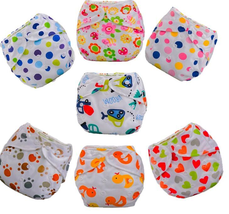 30pcs/Lot  New DesignBaby Diaper Washable Learning Pants  Cotton Training Pant