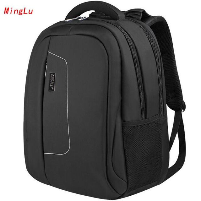 ffb06415bcda US $62.99 |MINGLU Business Backpack Laptop Bags Large Capacity Women's  Men's 15.6 Inch Laptop Bags Chinese Brand Daily Backpack X952-in Backpacks  from ...