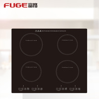 High Power Commercial 4 Cooker Electric Induction Cooker Household Appliances Kitchen Equipment Cooktop Stove Appliance
