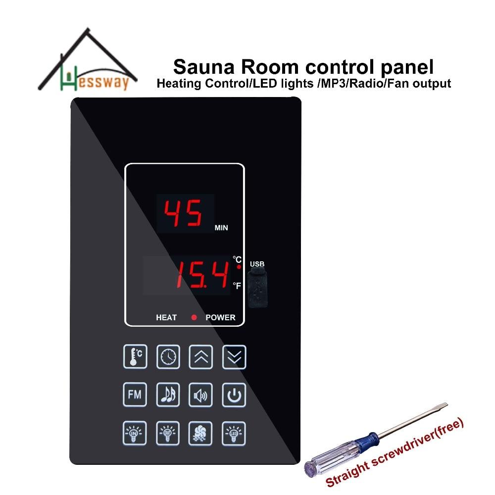 220V110V 30A suchá parní komora Kyslíková tyčinka sauny Regulátor teploty pro regulaci teploty a světla