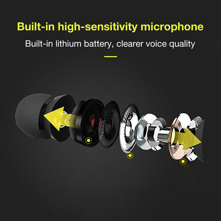Magnetic music bluetooth earphone Y10 sport running wireless bluetooth headset with Mic For iPhone 8 X 7 Xiaomi 006