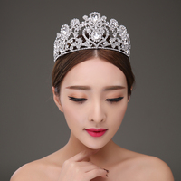 Chie Jewelry Bridal Headdress Hair Accessories Crown Victoria Grand Crystal Wedding Jewelry Accessories