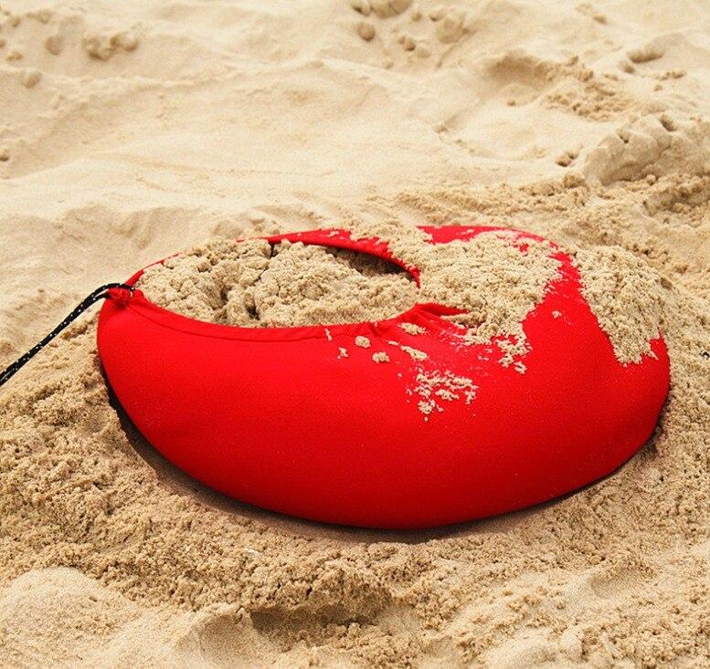 HOT Sea Beach CampingTent bâche parasol gonflable abri auvent sable ancre sac de transport auvent pluie protéger Portable 2 pôles - 6