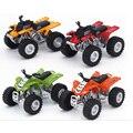 4 unids/lote 1: 32 de Aleación de Metal de Juguete Tire Volver Modelos de Vehículos de La Motocicleta Playa de Arena Juguetes Para Niños Brinquedos Educativos regalo