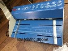 Новый электрический машина для фальцовки бумаги Бумага Резак И Перфоратор 3 в 1 комбо 460 мм