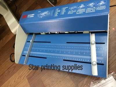 New Electric Paper Creasing Machine Paper Cutter and Perforator 3 in 1 combo 460mm|Binding Machine| |  - title=