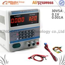 Actualización DPS-305BM teclado Digital Programable Ajustable fuente de Alimentación DC 30 V/5A 0.1 V/0.001A para Teléfono/Reparación de portátiles