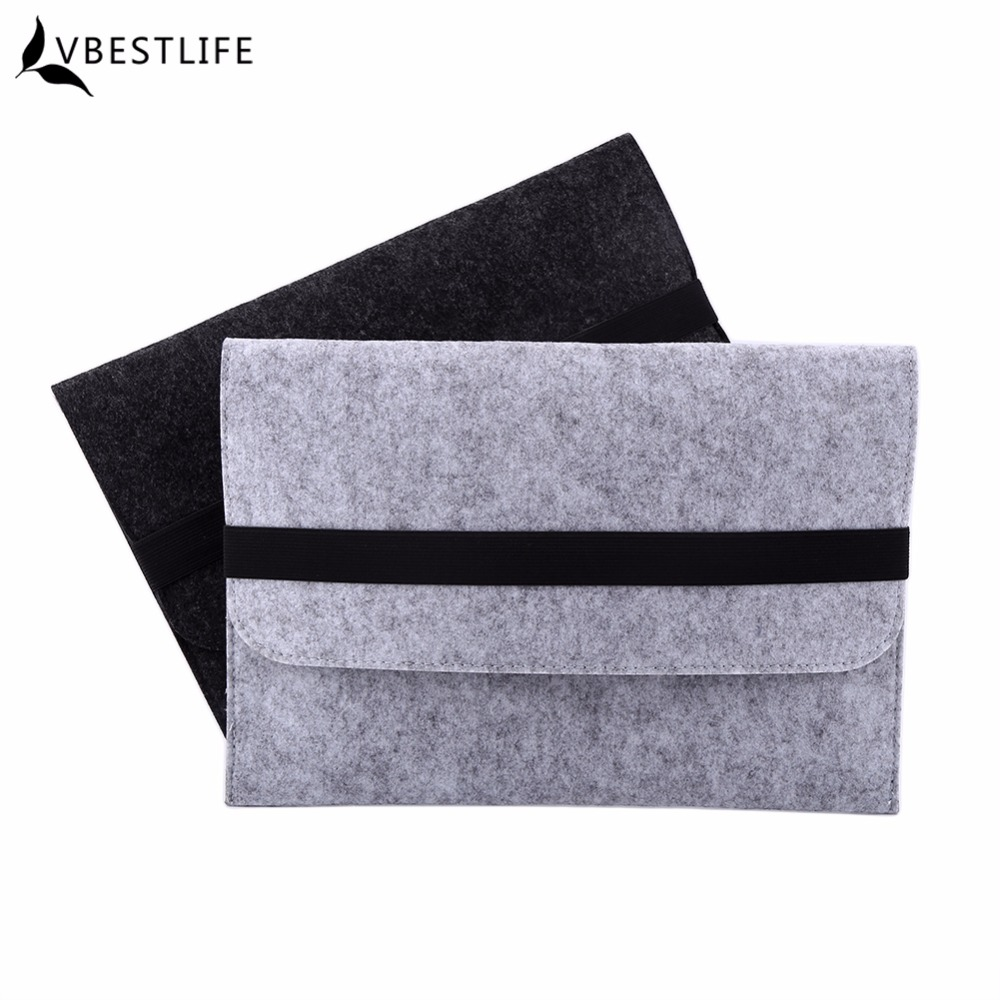 13 Inch Felt Laptop Sleeve Bag for Macbook Air for Macbook Pro 13.3 Notebook Tablet Case