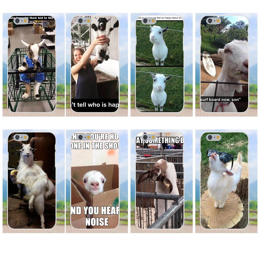 For Galaxy A3 A5 A7 On5 On7 2015 2016 2017 Grand Alpha G850 Core2 Prime S2 I9082 TPU Skin Paintin Goat Meme image