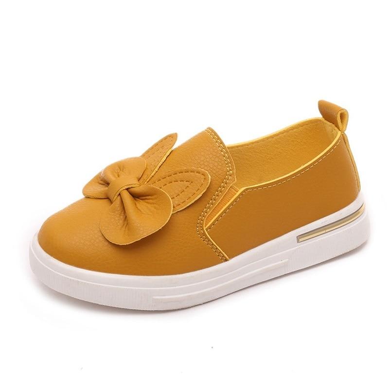 COZULMA Quality Autumn Cute Rabbit Children Sneakers Girls Princess Shoes Children Skate Shoes Girls Flat Sport Shoe 4 Color
