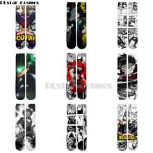 Plstar Cosmos anime My Hero Academia New Style Cartoon 3d Print Men Women Funny socks