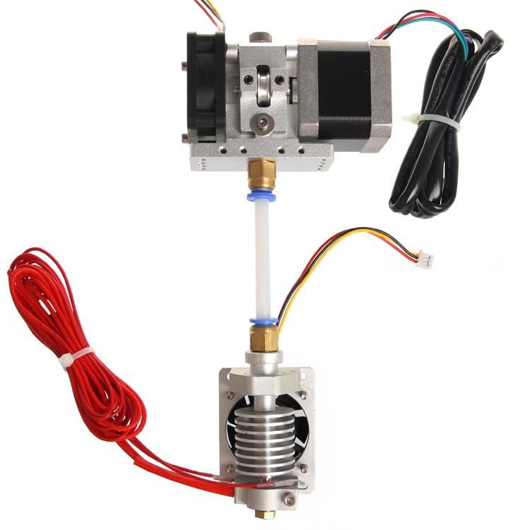Geeetech GT9L 3D Printer j-head Hotend Extruder Short/Long Distance 0.3/0.35/0.4/0.5mm Nozzle for 1.75/3mm Filament new 12v e3d v6 3d printer extruder j head hotend 0 4mm nozzle for 1 75mm filament fan