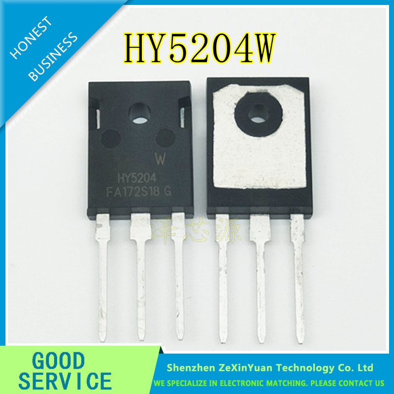 10PCS/LOT HY5204W HY5204  40V 320A  NEW TO-247 replace IRFP7430 IRLP3034 IRFP400410PCS/LOT HY5204W HY5204  40V 320A  NEW TO-247 replace IRFP7430 IRLP3034 IRFP4004